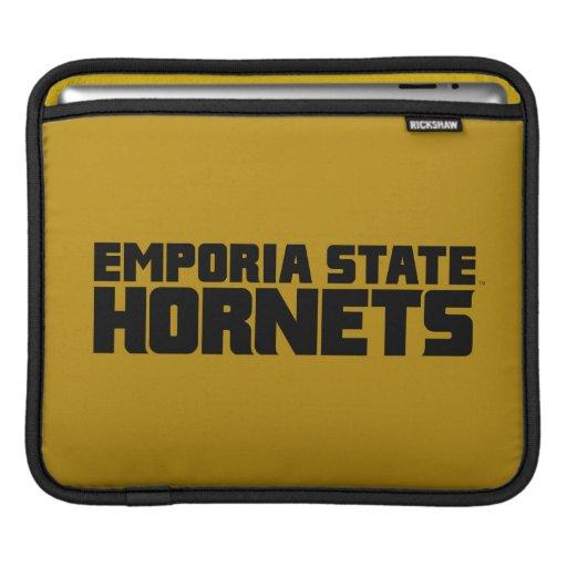 Emporia State Hornets Wordmark iPad Sleeve