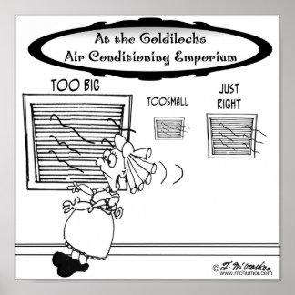 Emporio del aire acondicionado de Goldilocks Impresiones