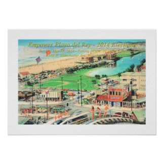 Empower Playa del Rey – 2014 Full Border Poster