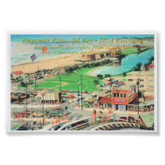 Empower Playa del Rey – 2014 ¼ Inch Border Posters
