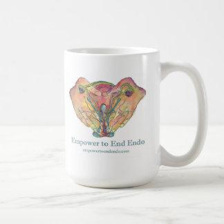 Empower to End Endo© mug