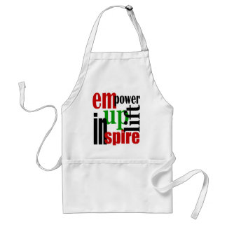 Empower, Uplift, Inspire Adult Apron