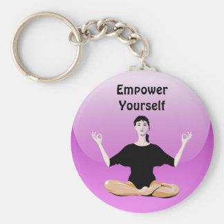 empower yourself keychain