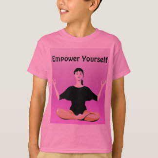 empower yourself kids shirt