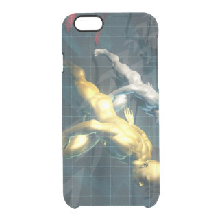 Empowered Individuals Racing to Upgrade Skills Clear iPhone 6/6S Case
