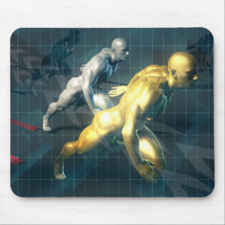 Empowered Individuals Racing to Upgrade Skills Mouse Pad
