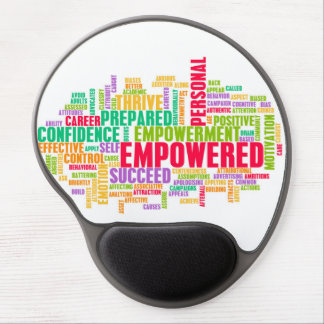 Empowered or Empowerment of Self as a Concept Gel Mouse Pad