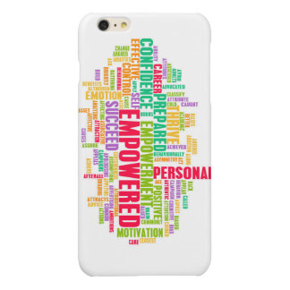Empowered or Empowerment of Self as a Concept Glossy iPhone 6 Plus Case