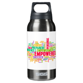 Empowered or Empowerment of Self as a Concept Insulated Water Bottle