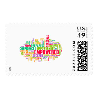 Empowered or Empowerment of Self as a Concept Postage