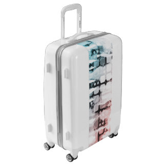 Empowered Professionals Working as a Team Concept Luggage