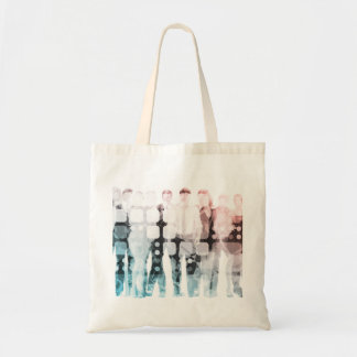 Empowered Professionals Working as a Team Concept Tote Bag