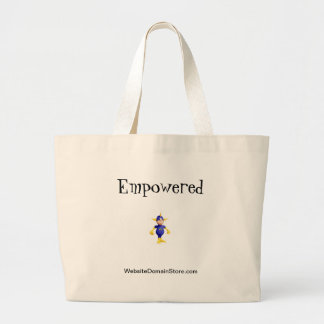 Empowered tote bag by Website Domain Store