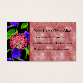 Empowered Woman Business Card