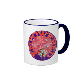Empowered Woman Ringer Coffee Mug