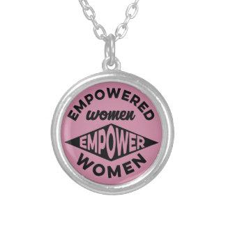 Empowered Women Empower Women Silver Plated Necklace
