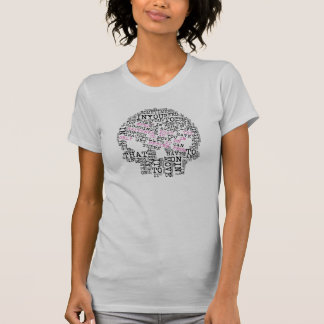 Empowering Quotes Skull Head T-shirts