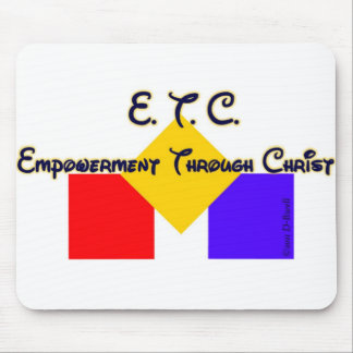 Empowerment Through Christ Mouse Pad