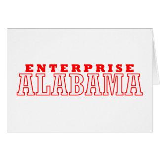 Empresa, Alabama Tarjeta De Felicitación