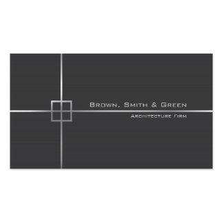 Empresa de la arquitectura tarjetas de visita