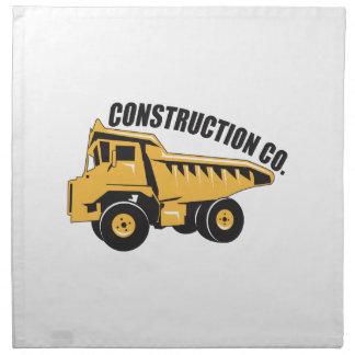 Empresa de la construcción servilleta