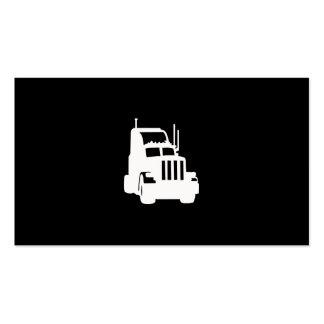 Empresa de transportes plantillas de tarjeta de negocio