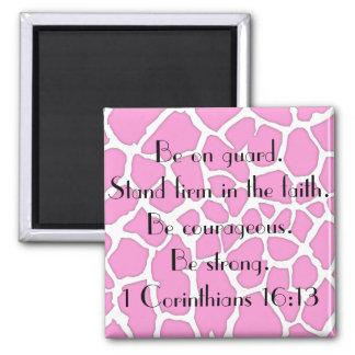 empresa del soporte en el verso de la biblia de la iman para frigorífico