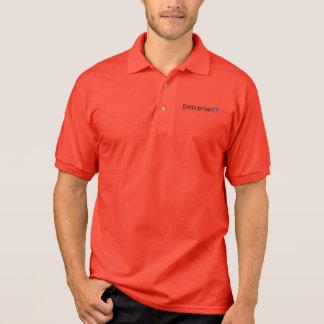 Empresa ÉL Poloshirt rojo Camisetas Polos