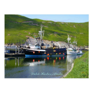 Empresa en el escupitajo, puerto holandés, Alaska Tarjetas Postales