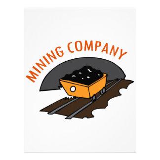 Empresa minera membrete