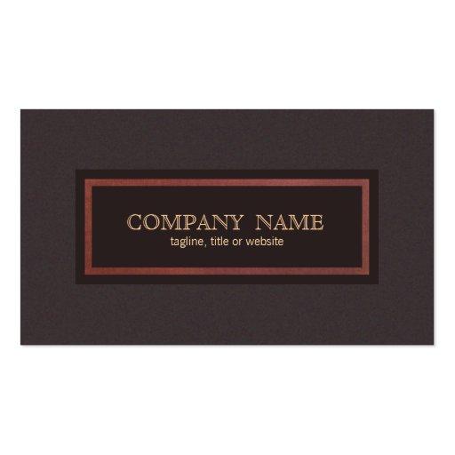 Empresario clásico del estilo tradicional del vint tarjetas de visita