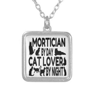 Empresario de pompas fúnebres del amante del gato joyería