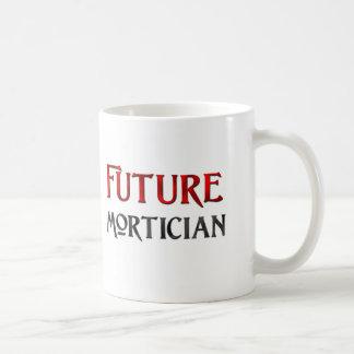 Empresario de pompas fúnebres futuro taza