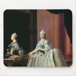 Empress Catherine II before the mirror, 1779 Mouse Pad