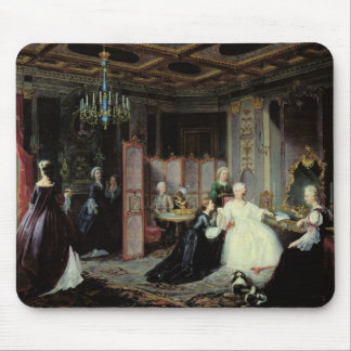 Empress Catherine the Great  receiving a Mouse Pad