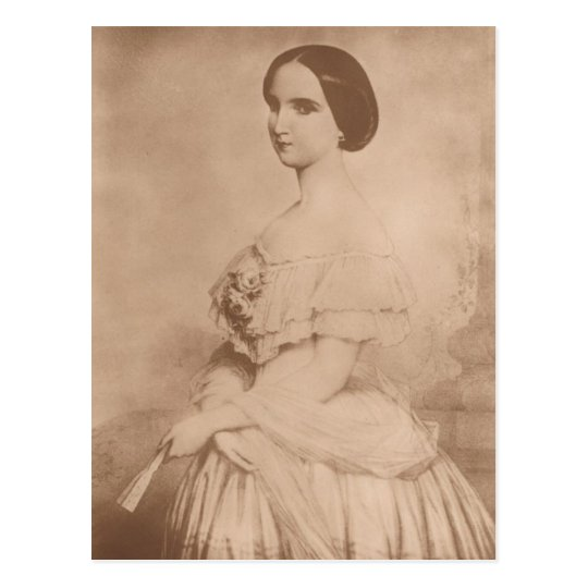 Empress Charlotte of Mexico as a child #008M Postcard