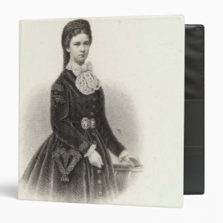 Empress Elisabeth of Austria 3 Ring Binder
