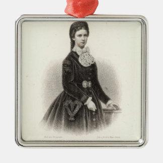 Empress Elisabeth of Austria Metal Ornament
