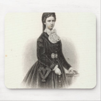 Empress Elisabeth of Austria Mouse Pads