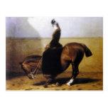 Empress Elisabeth riding horse sidesaddle #027SS Postcard