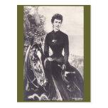 Empress Elisabeth riding horse sidesaddle #059SS Postcard