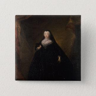 Empress Elizabeth in Black Domino, 1748 Button