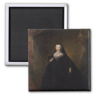 Empress Elizabeth in Black Domino, 1748 Magnet