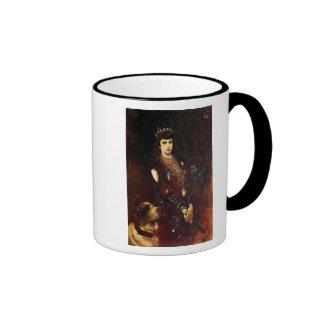 Empress Elizabeth of Austria, 1883 Ringer Coffee Mug