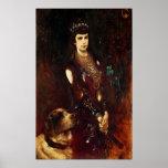 Empress Elizabeth of Austria, 1883 Poster