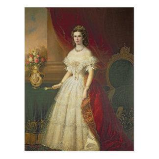 Empress Elizabeth of Bavaria , 1863 Postcard