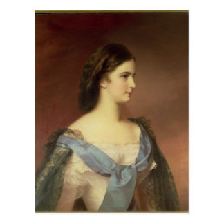 Empress Elizabeth of Bavaria  as a young woman Postcard