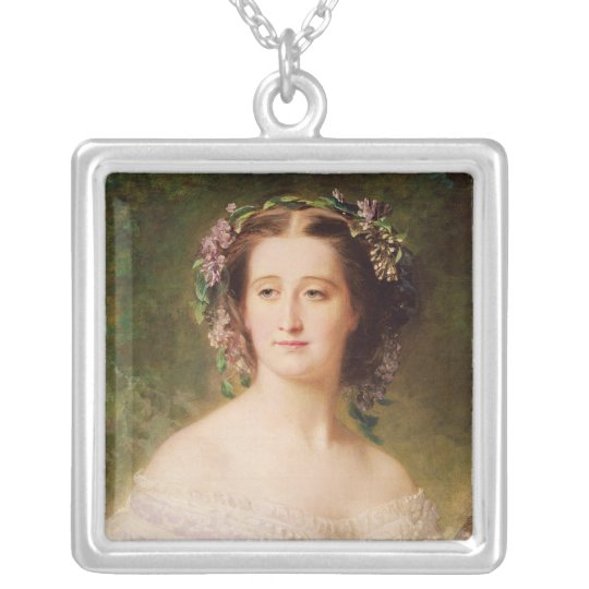 Empress Eugenie  and her Ladies in Waiting Silver Plated Necklace