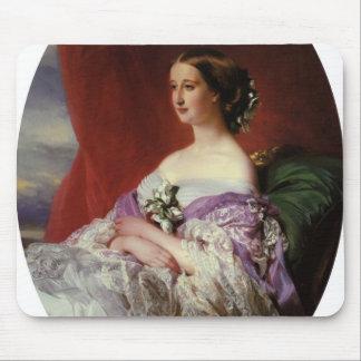 Empress Eugenie by Franz Xaver Winterhalter Mouse Pad