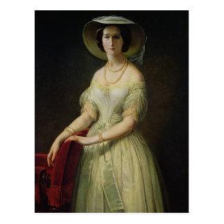 Empress Eugenie  c.1853 Postcard